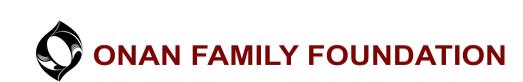 Onan Family Foundation Logo